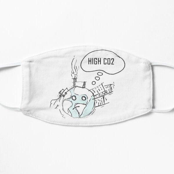 Hohes CO2 Flache Maske