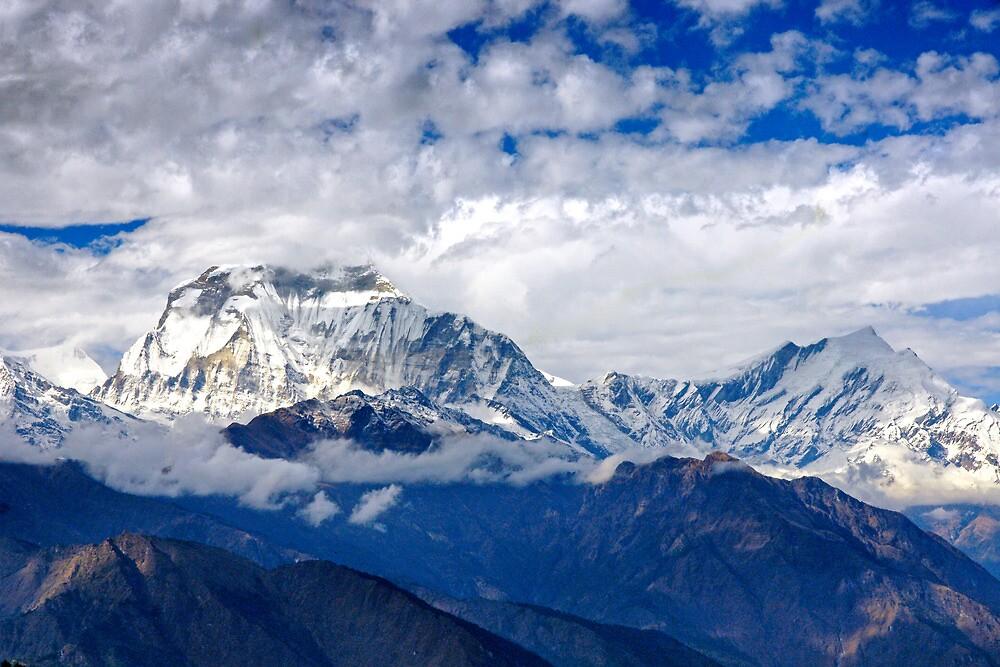 Himalayan Dawn II by Harry Oldmeadow
