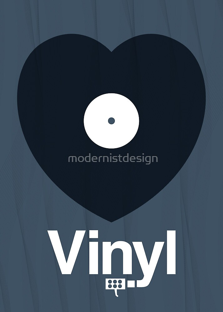 Love Vinyl by modernistdesign
