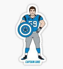 Captain Luke! Sticker
