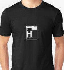 Helvetica Periodic Logo 2 (in white) T-Shirt