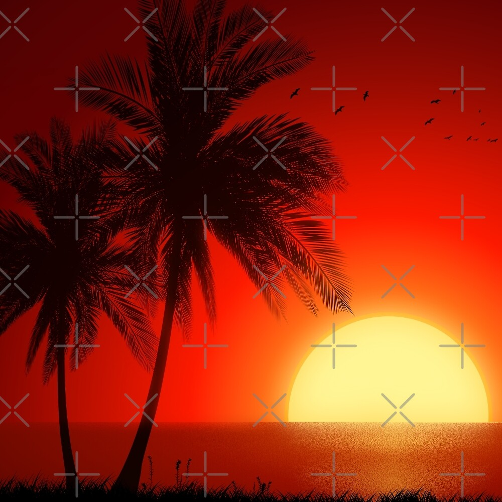 Sunset 1980 by RFive