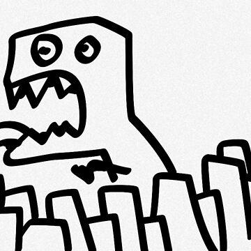 Dino Terror by prestonstegall