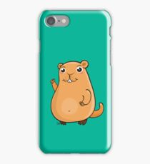 GroundHog Kawaii iPhone Case/Skin