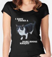 Rare House Khajiit Women's Fitted Scoop T-Shirt