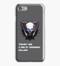 Trained killer iPhone Case/Skin