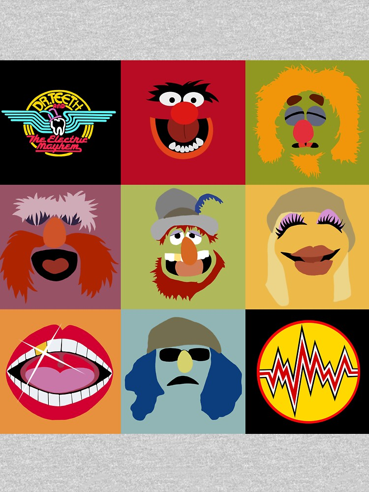 Dr. Teeth and the Electric Mayhem ft Lips by geekartistry