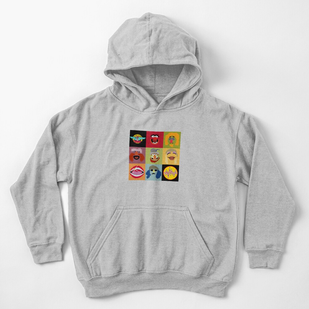 Dr. Teeth and the Electric Mayhem ft Lips Kids Pullover Hoodie
