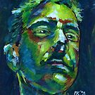 Experimental Self Portrait by Martin Kirkwood