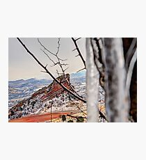 Hidden Red Rocks Photographic Print