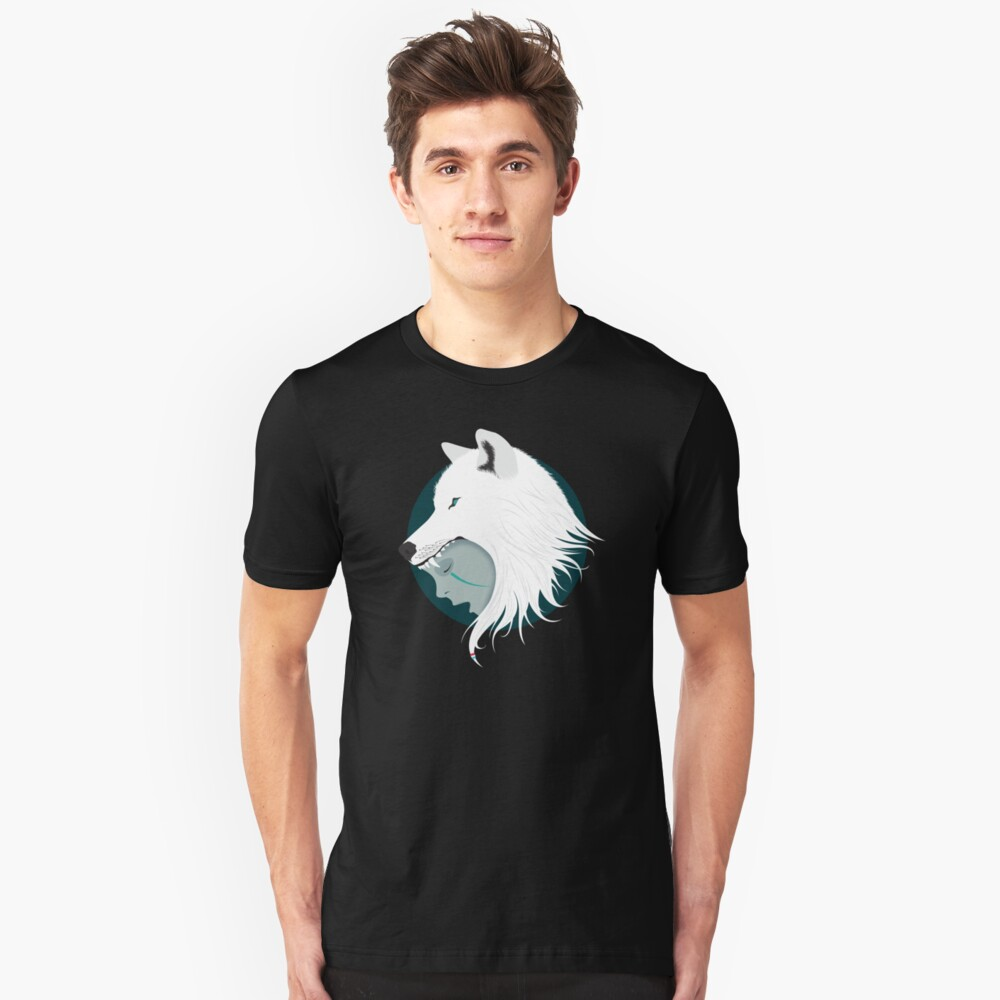 Boy Cries Wolf (White) Unisex T-Shirt Front