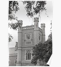 Clock—Government House Tasmania Poster