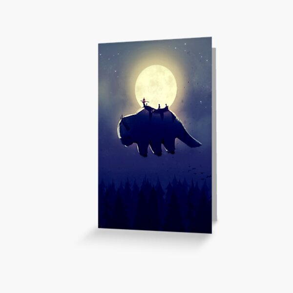 The End of All Thing (Night Version) - Vertical Verison Greeting Card