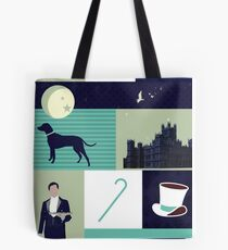 Downton Abbey - Collage Tote Bag