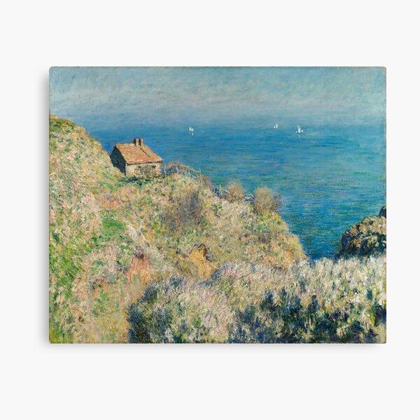 Claude Monet - La maison du pecheur, Varengeville Canvas Print