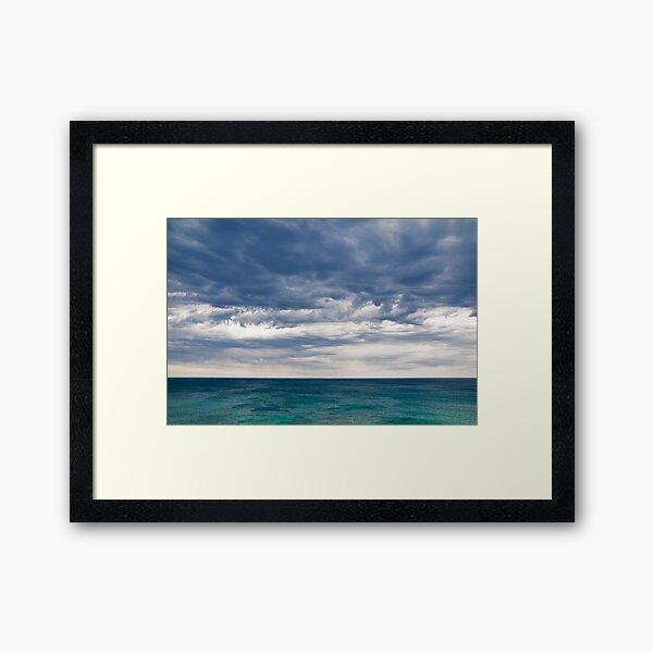 """""""Where's the Subject"""",Great Ocean Road,Australia. Framed Art Print"""
