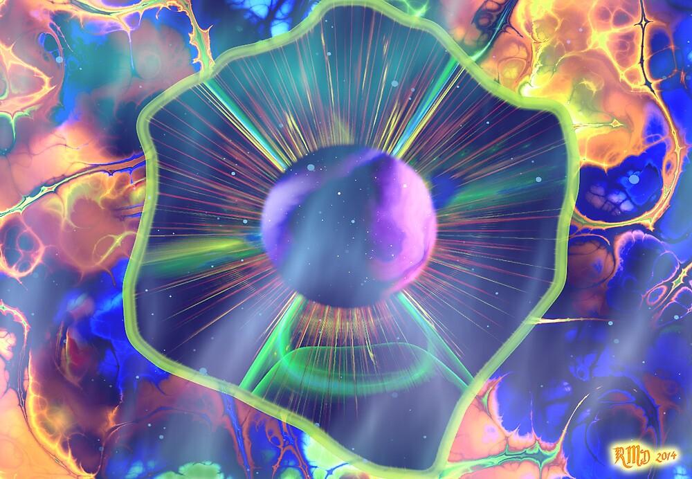 Nebula Zone in Flame Territory by Robert Douglas