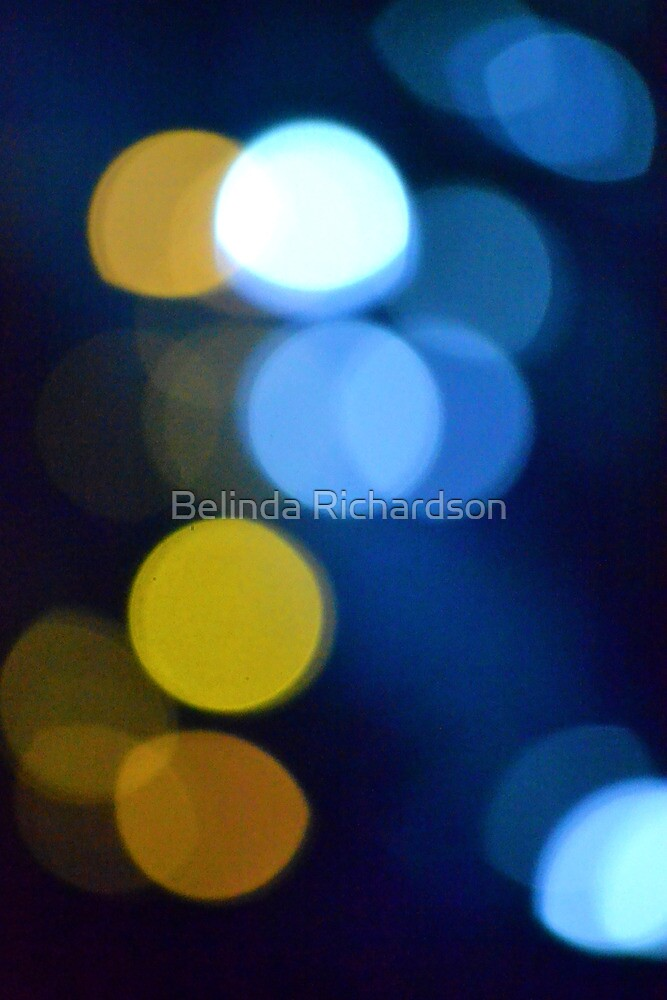 Bokeh in Blue by Belinda Richardson