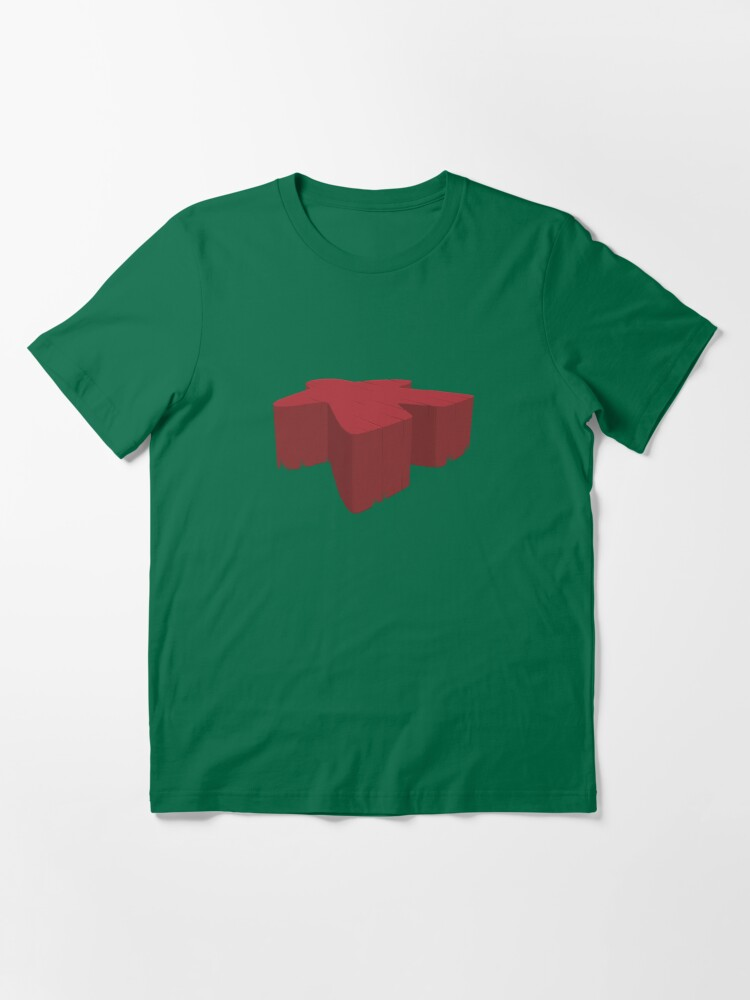 Alternate view of Meeple on the field! Essential T-Shirt