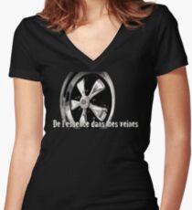 Fuchs DLEDMV Women's Fitted V-Neck T-Shirt