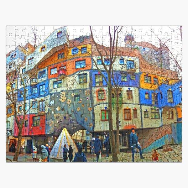 Hundertwasser House Vienna Jigsaw Puzzle