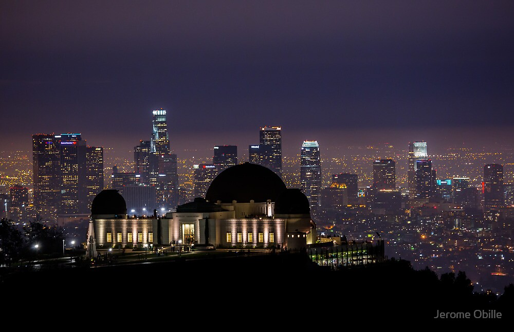 Los Angeles Skyline by Jerome Obille