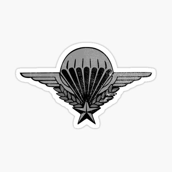 Ailes de parachutiste français (en détresse) Sticker