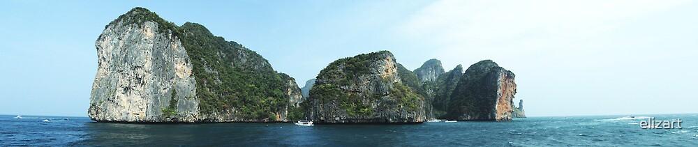 Phi Phi Islands by elizart