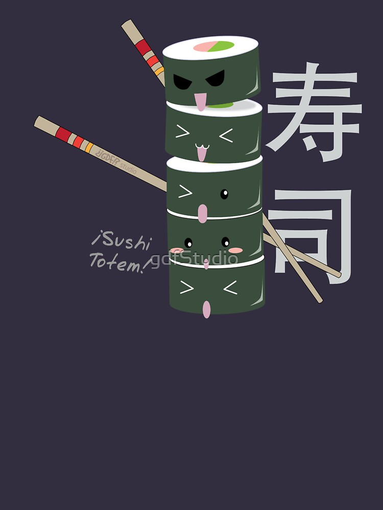 Sushi totem! by gdfStudio