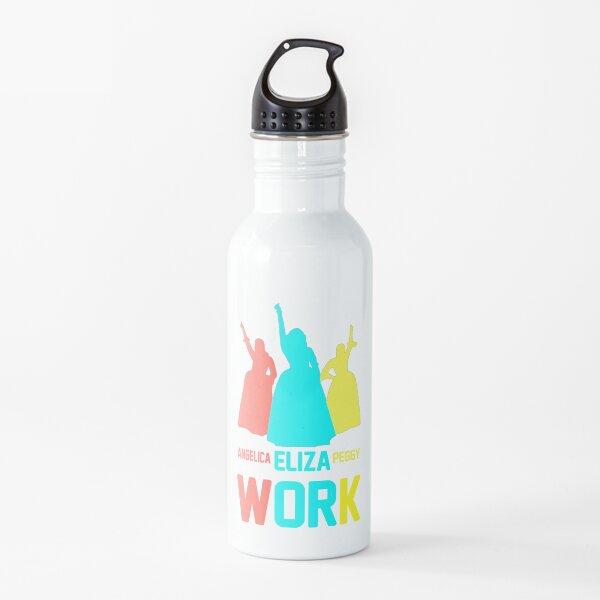 Angelica Eliza y Peggy Work camisetas Botella de agua