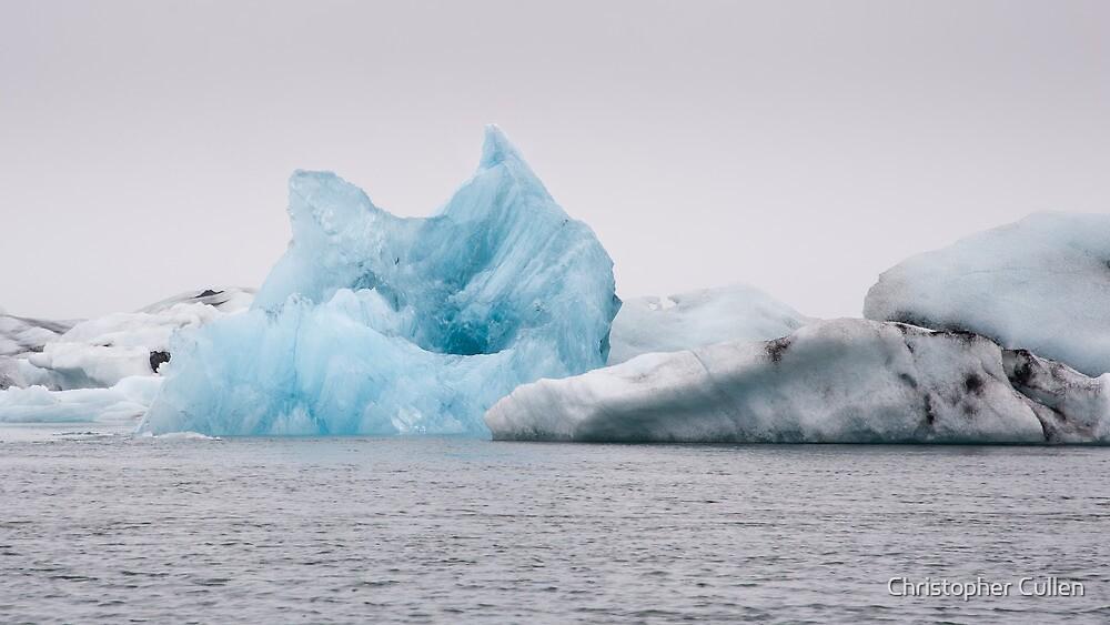 Jokulsarlon Iceberg by Christopher Cullen