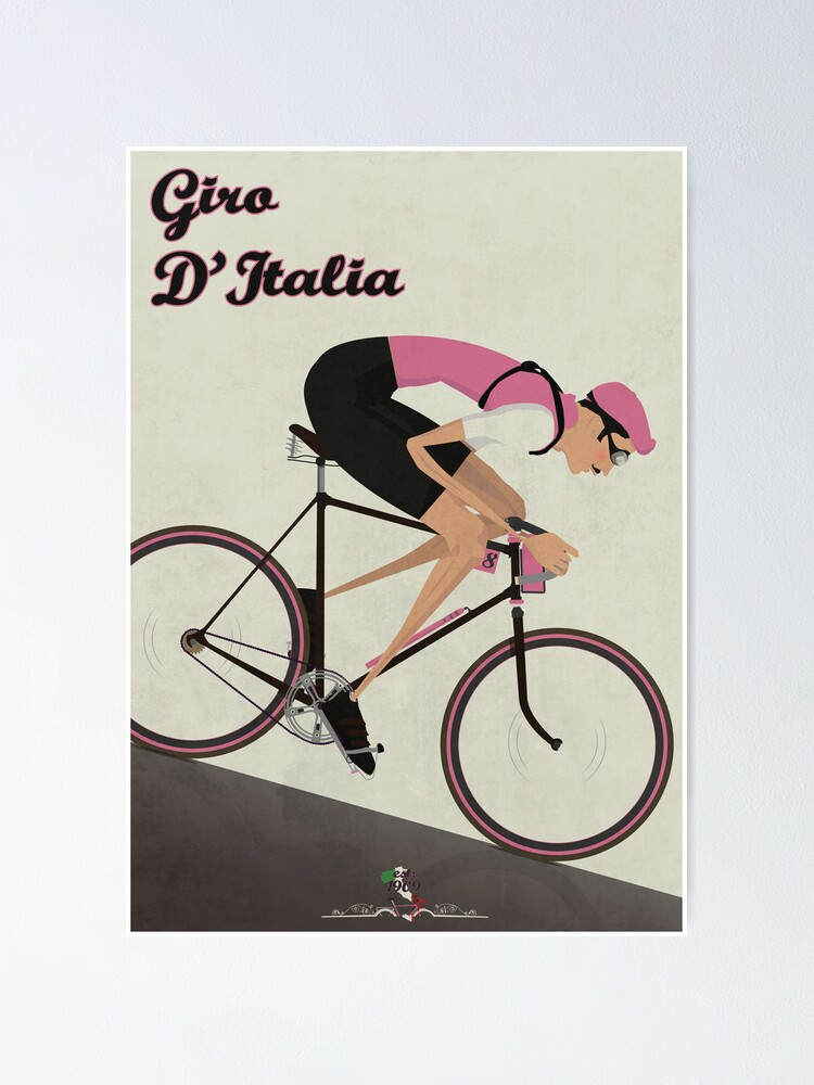 Automoto Cycles 1930 Vintage Poster Print French Bicycle Advertising Retro Art