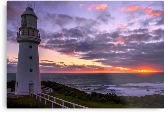 Cape Otway Light-house by Graeme Bayley