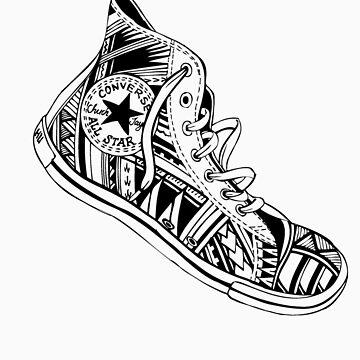 Tribal Sneakers by motif1987