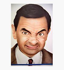 Mr. Bean Photographic Print