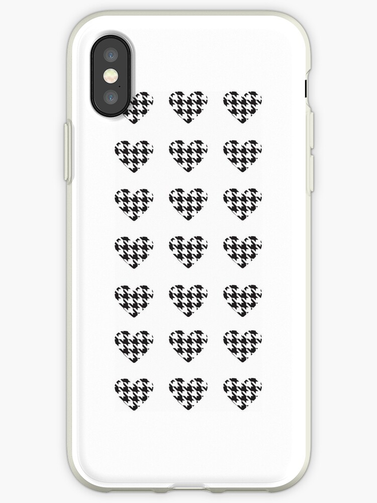Hounds tooth heart by moma-loves-bob