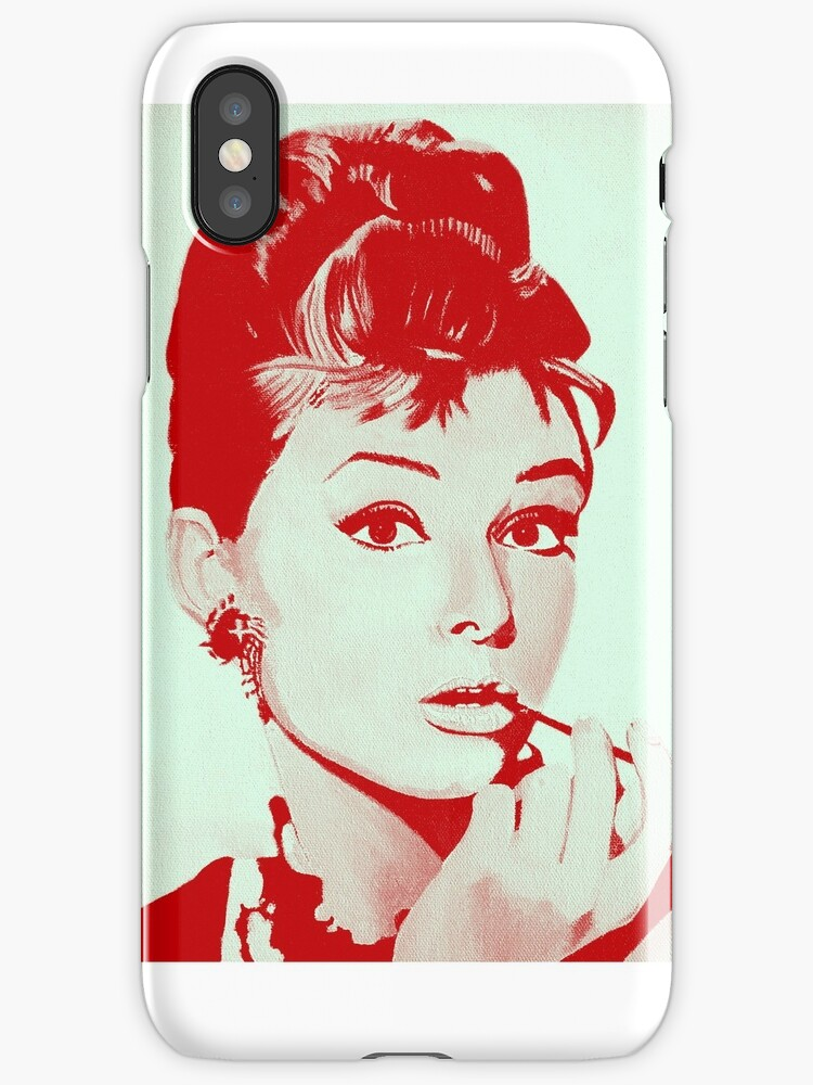 Audrey Hepburn by Myartscape