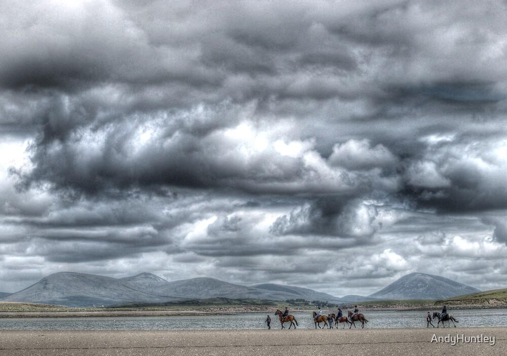 Pony trekking in Ireland by AndyHuntley