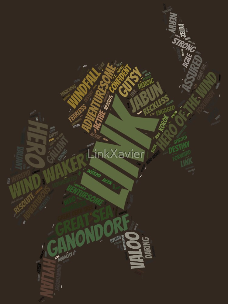 Toon Link Wordle  by LinkXavier