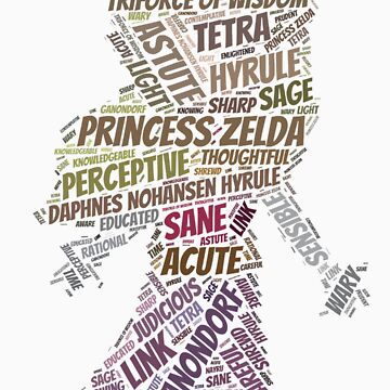 Wordle Toon Zelda 2 by LinkXavier