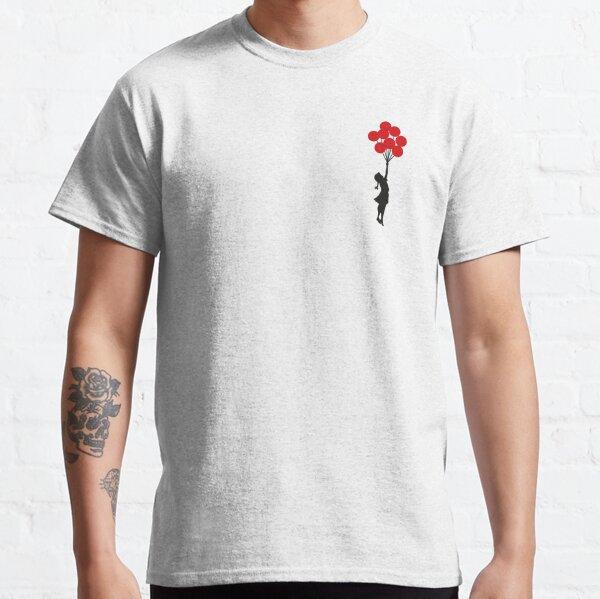 Banksy Balloon Girl Classic T-Shirt