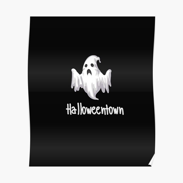 Halloweentown Shirt, Halloweentown Tee Shirt Poster