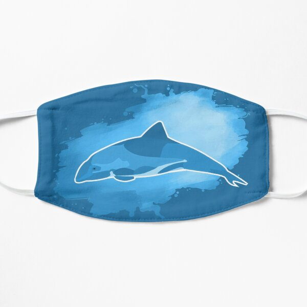 Hector Dolphin from New Zealand Mask