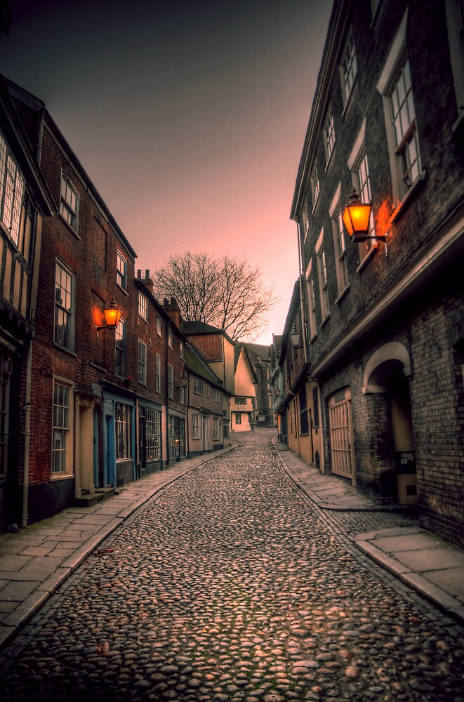 An Elm Hill Evening by TreeRoot