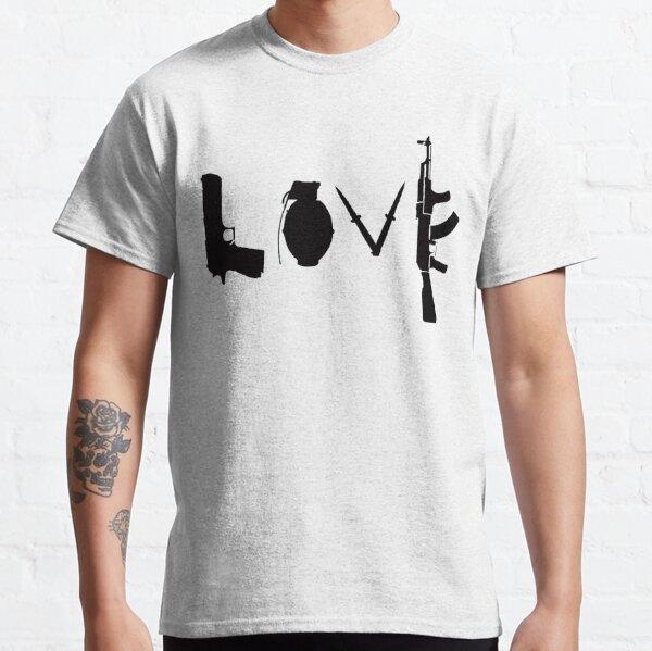 Banksy Love Guns Classic T-Shirt