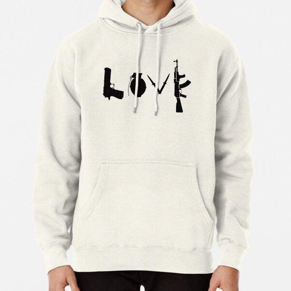 Banksy Love Guns Pullover Hoodie