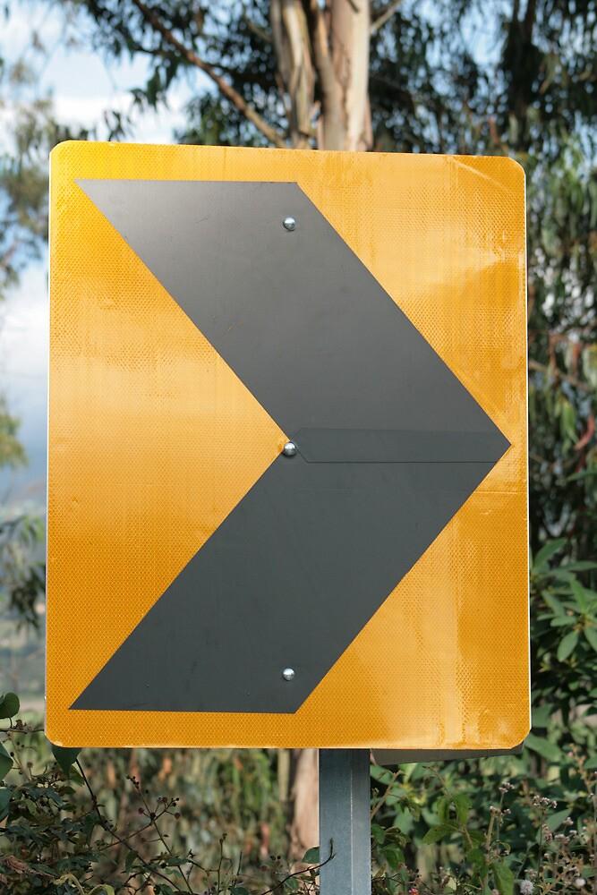 Arrow Sign by rhamm