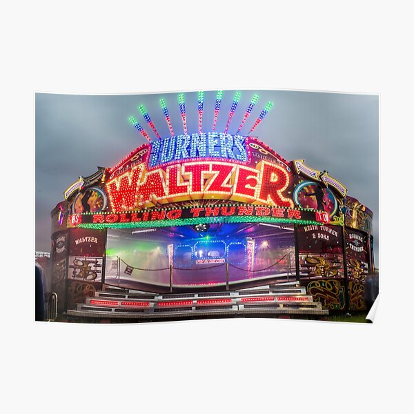 Keith turners waltzer hoppings 2015 Poster
