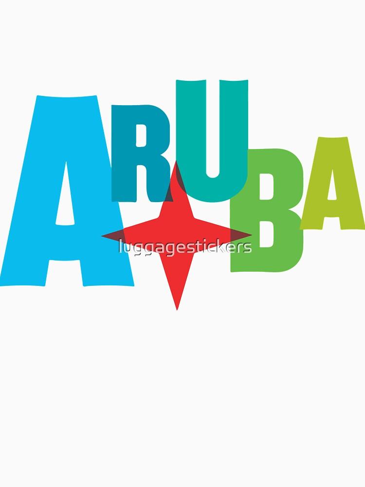 Aruba by luggagestickers