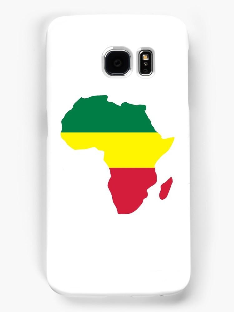Africa map reggae by Designzz